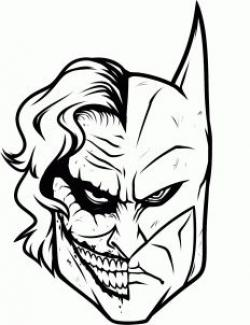 Joker clipart batman comic