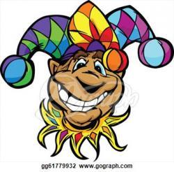 Joker clipart carnival