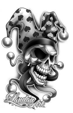 Jester clipart gangster
