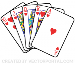 Poker clipart playing card
