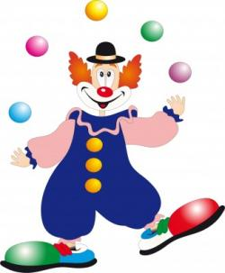 Clown clipart children's
