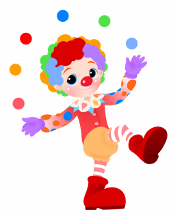 Clown clipart cute