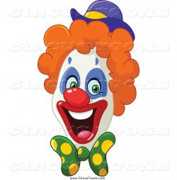 Clown clipart thin