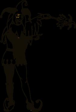 Renaissance clipart court jester