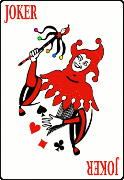 Joker clipart joker card