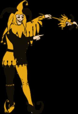 Joker clipart medieval