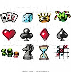 Club clipart poker