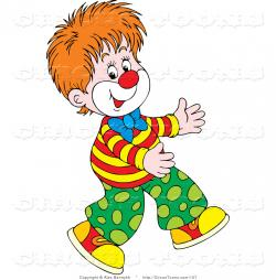 Clown clipart boy