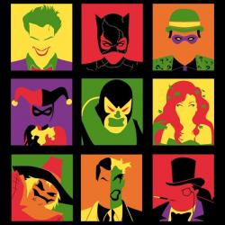 Pop Art clipart batman cartoon