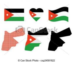Jordania clipart drawn