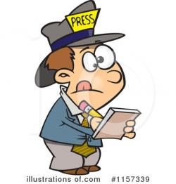 Journalist clipart