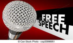 Microphone clipart freedom expression