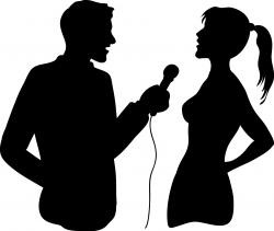 Microphone clipart interview microphone