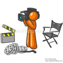 Journalist clipart news flash