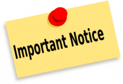 Journalist clipart notice