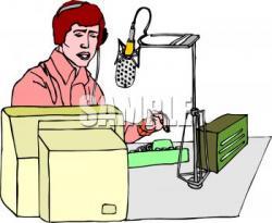 Estudio clipart radio station