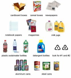 Atmosphere clipart recycled material