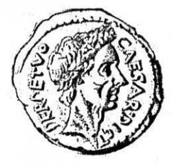 Julius Caesar clipart Julius Caesar Coin Drawing