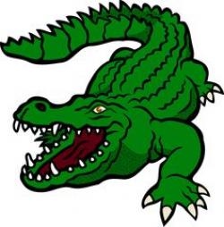 Crocodile clipart grumpy