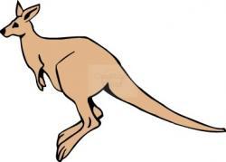 Hop clipart baby kangaroo