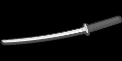 Katana clipart ninja sword