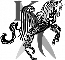 Katana clipart tribal