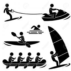 Kayak clipart water boat