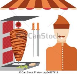 Kebab clipart doner kebab