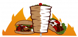 Kebab clipart gyro