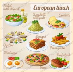 Kebab clipart meat food