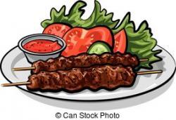 Kebab clipart mutton