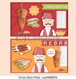 Kebab clipart shawarma