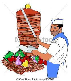 Kebab clipart turkish