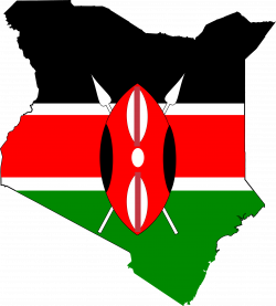 Kenya clipart Kenya Map Clipart