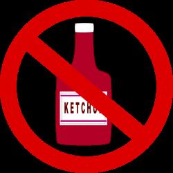 Ketchup clipart cartoon