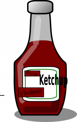 Ketchup clipart generic
