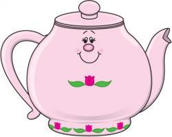 Teapot clipart pastel