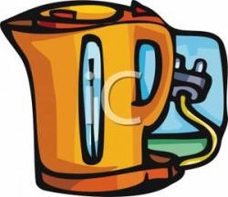Kettle clipart electric kettle