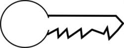 Key clipart big