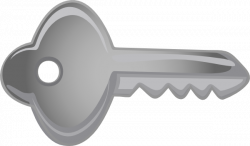 Key clipart horizontal