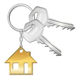 Key clipart new home