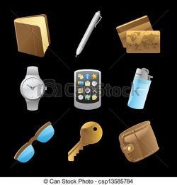 Key clipart personal belongings