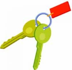 Key clipart set
