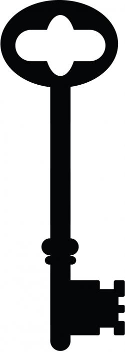 Steampunk clipart skeleton key