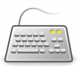 Keyboard clipart input device