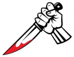 Dagger clipart bloody dagger