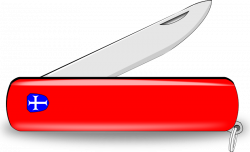 Knife clipart pocket knife