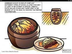 Kimchi clipart south korea