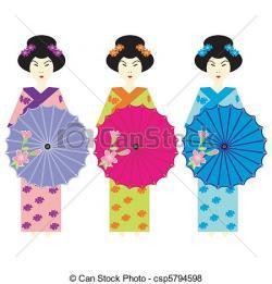 Kimono clipart clothes