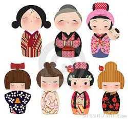 Kimono clipart gambar